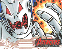 Avengers - Age of Ultron Sketch Cards
