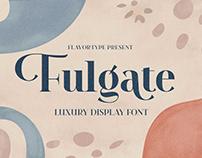 Fulgate - Luxury Display Font