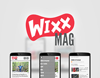 Wixx MAG - Site Web
