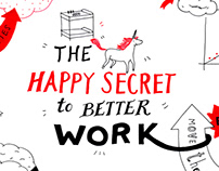 The happy secret to work