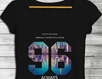 WOMENS CITY GRAPHIC TEES