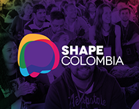 Shape Colombia Project Brand