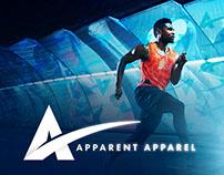 Apparent Apparel Logo & Branding