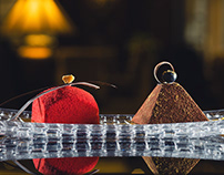 food| Desserts and sushi set for Intercontinental Kyiv