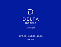 Delta Hotels Brand Collateral