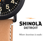 Shinola Ad Series