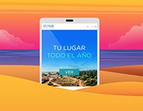 Dunas de Pinamar Website