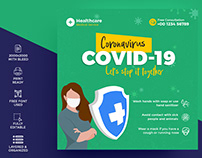 Covid-19 Instagram Post Template