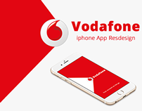 Vodafone iPhone App Redesign