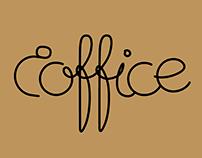 Branding for office cafe Coffice in Tallinn. 2015