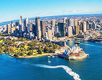 Destination NSW International website