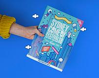 Sydney Comedy Festival Brand Refresh