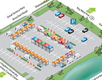 Maps for MilkladyFarmersMarket 2015