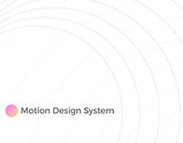 Motion Design System