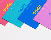 TADA PRELAUNCH // Corporate identity
