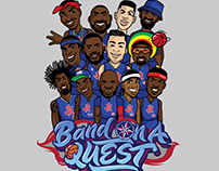 2016-'17 Tee design of the L.A. Clippers' bench [2017]