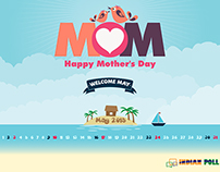 Mothers Day Calender
