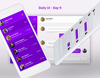 Daily UI Challenge - Day 9
