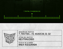 Areas Aseguradas / Raid Max