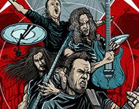 Metallica Worldwired Tour 2018-2019 Sacramento Poster