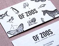 OF ZOOS Namecard