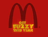 McDonald's Fuzzy Prizes Posters