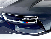 BMW M Zero - Thesis project