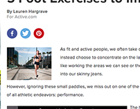 Active Article- Improve Running Pace