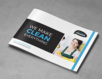 Cleaning Service Brochure - A5 Landscape