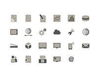 Iconset und Schaltflächen für TCG