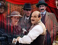 Agatha Christie's Poirot Collage