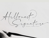 FREE | Hillonest Modern Signature Script