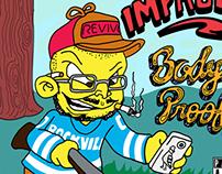 Impropoe - Body of Proof (ALBUM COVER)