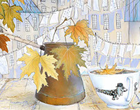 autumn time - coffee time
