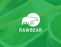 Raw Bear Logotype & Label Design