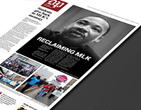 Newspaper Print Redesign - The Daily Pennsylvanian