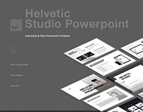 Helvetic Powerpoint Design Presentation
