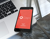 Aplikacja mobilna gAPI