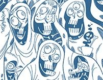 SoMe doodles // Illustration