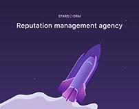 Website for agency