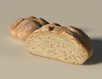 Blender - Realistic Bread