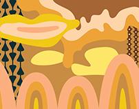 Mural/Wallpaper project for OHO restaurant.