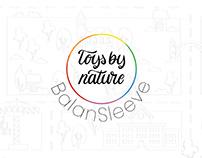 BalanSleeve Logo and Product Design