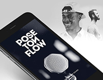Pose Ton Flow – App Design