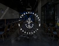 L'EMBARCADèRE - Restaurant Branding