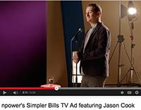 npower Simpler Bills TV Ad feat. Jason Cook