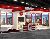 Mantri Developers Exhibition Design for Property show.