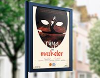 Poster & Brochure design for 'Rüya ve Maskeler'
