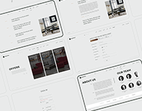 Pantsilion - Furniture House / Web Design / UI/UX