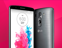 LG G3 Pre Launch Landing Page